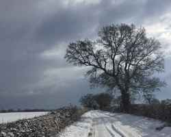 Snow & More Snow - Snowy Norfolk Roads