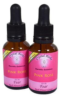 Pink Rose Flower Essence