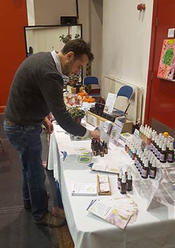 Setting Up the Crystal Herbs Stand
