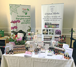 Crystal Herbs Stand at Plant Consciousness 2017