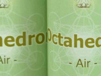 Octahedron Essence - close up of a 10ml & 25ml bottle