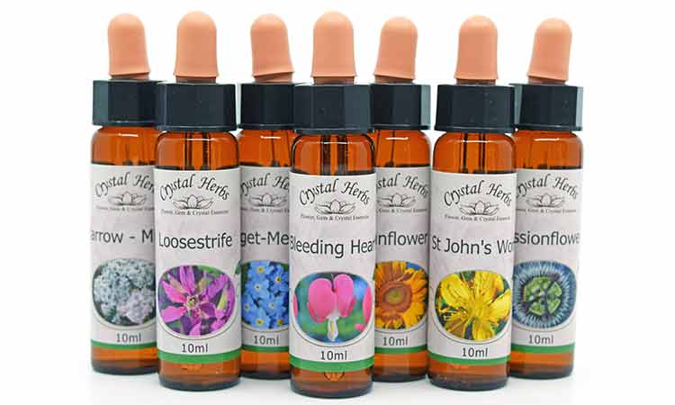 New 10ml Flower Essence Labels